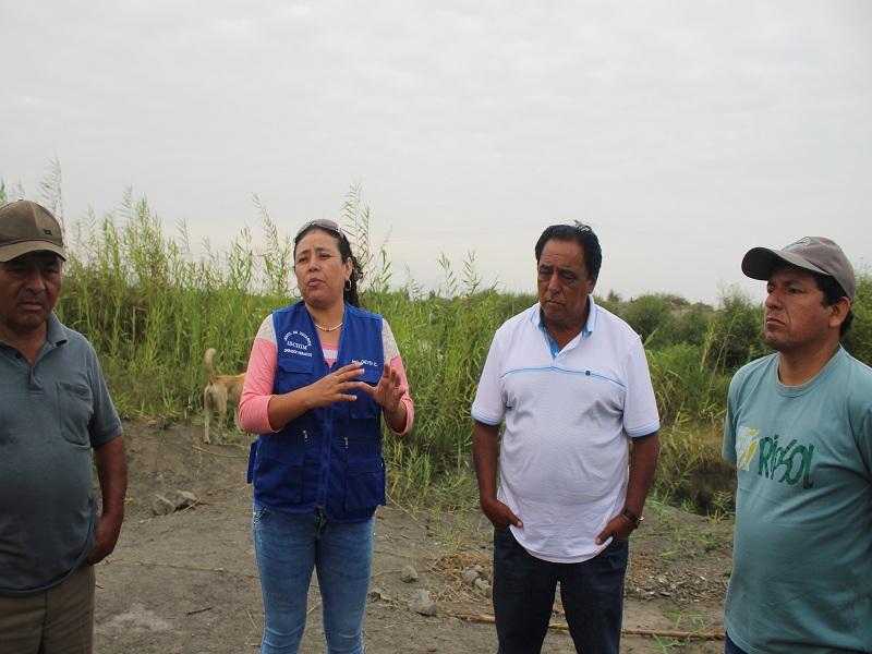 Agricultores de Tangay Bajo denuncian falta de mantenimiento de pozas de SedaChimbote