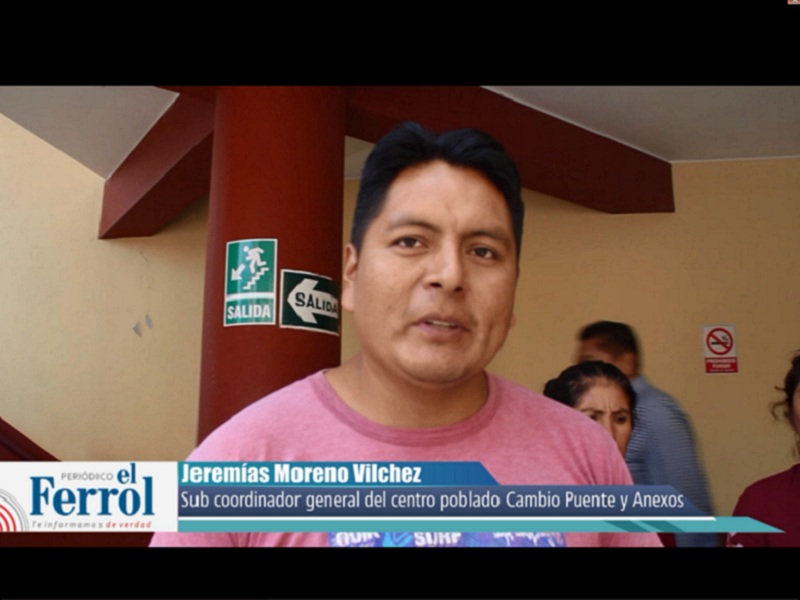 Cambio Puente: SedaChimbote no se ocupará de su proyecto de desagüe